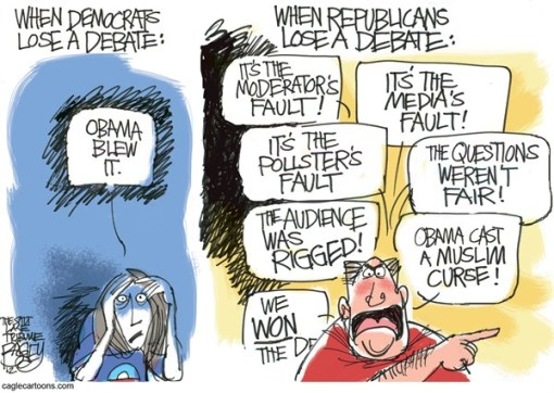 Bonus Cartoon of the Day- Debate Deniers